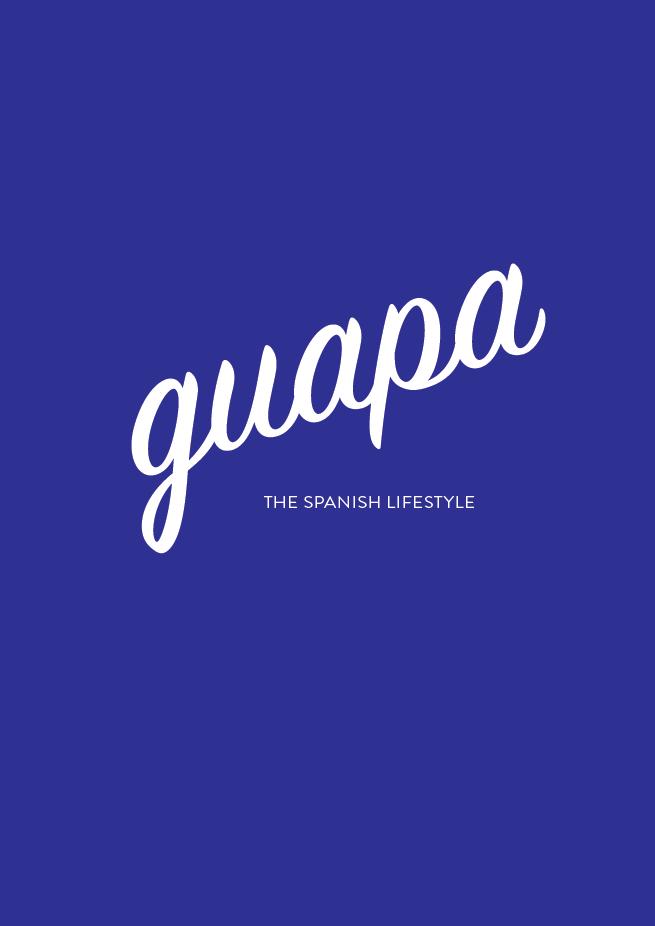 Guapa // The Logo Series (Phylleli) #design #graphicesign #logodesign #branding #designblog #visualidentity #typography #designer #mediterranean