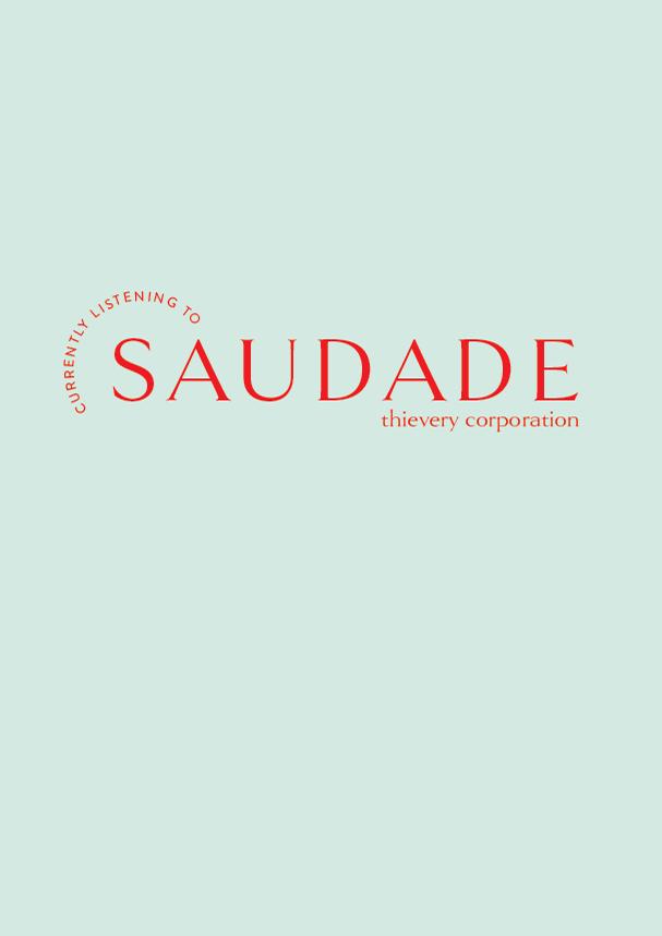 Saudade // The Logo Series (Phylleli) #design #identitydesign #branding #visualidentity #designblog #typography #minimalism