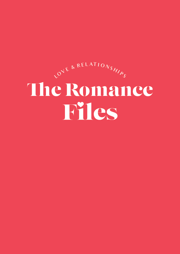The Romance Files // a new blog series exploring love and relationships (phylleli) #typography #design #branding #logodesign #loveandrelationships #selfcare #selflove #selfdevelopment