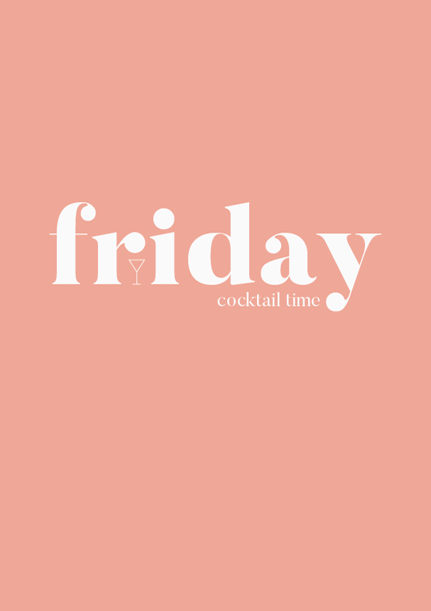 friday cocktail time // the logo series by phylleli #design #graphicdesign #typography #logodesign #branding #visualidentity #branding #identitydesign #designblog #creativity