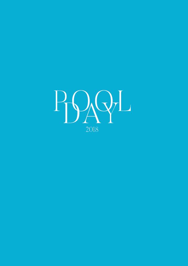 Pool Day // The Logo Series #design #graphicdesign #minimalism #typography #designblog #branding #editorialdesign #identitydesign #visualidentity