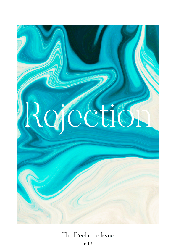 TFI No. 13 // Rejection #design #graphicdesign #innerwork #typography