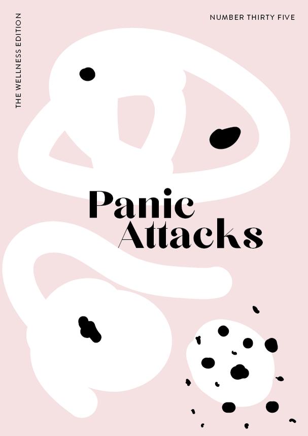 The Wellness Edition No. 35 // Panic Attacks (Phylleli) #design #graphicdesign #mentalhealth #selfcare #selflove #hashimotos #design #designblog #wellnessblog #typography