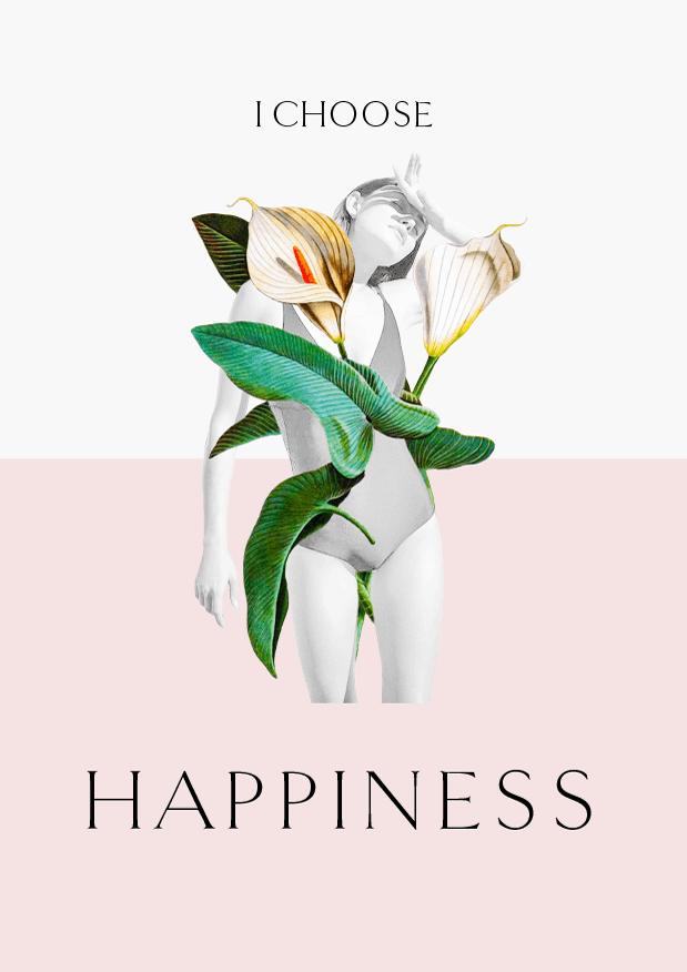 I choose happiness // Phylleli Design Studio and Blog
