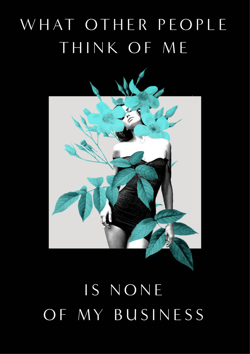 what other people think of me is none of my business // affirmations (phylleli design studio, shop and blog)