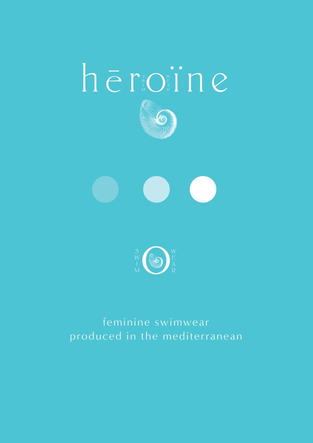 Heroine Swimwear // Branding (Phylleli Design Studio and Blog)