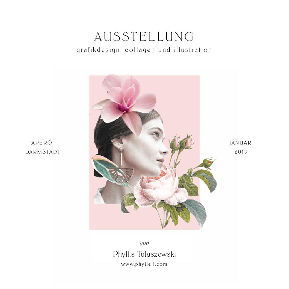 January 2019 Exhibition at Apéro Darmstadt // Phylleli Design Studio
