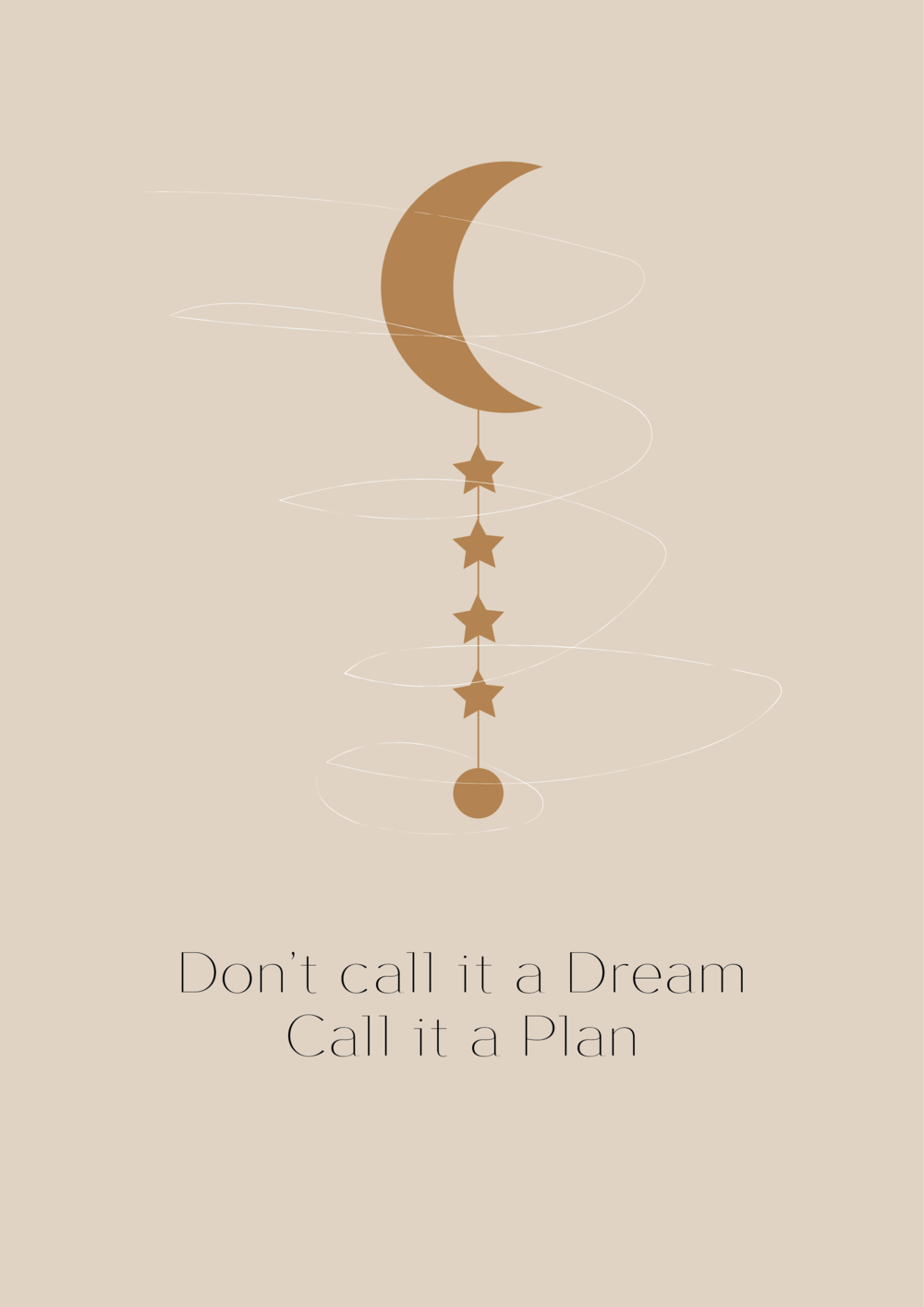 Don't call it a dream, call it a plan // Phylleli Design Studio and Blog