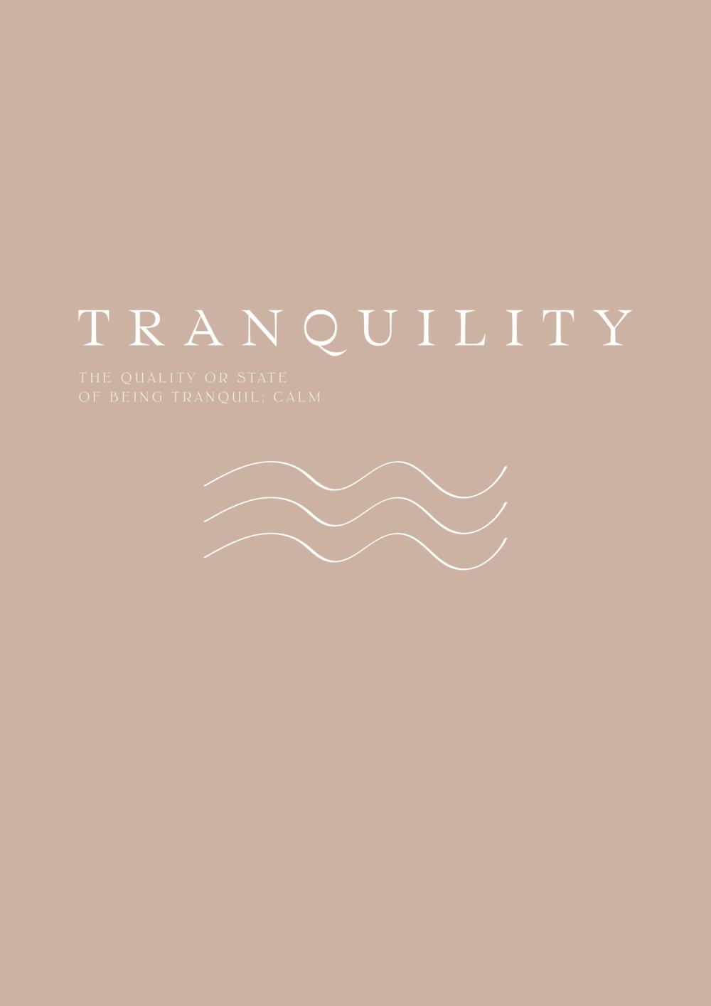 tranquility / phylleli design studio and blog