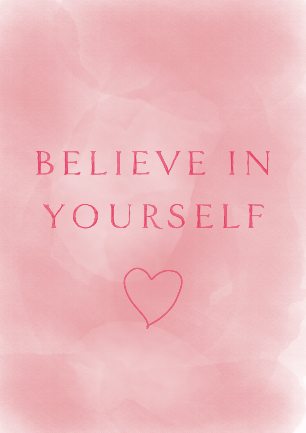 believe in yourself // affirmations (phylleli design blog and studio)