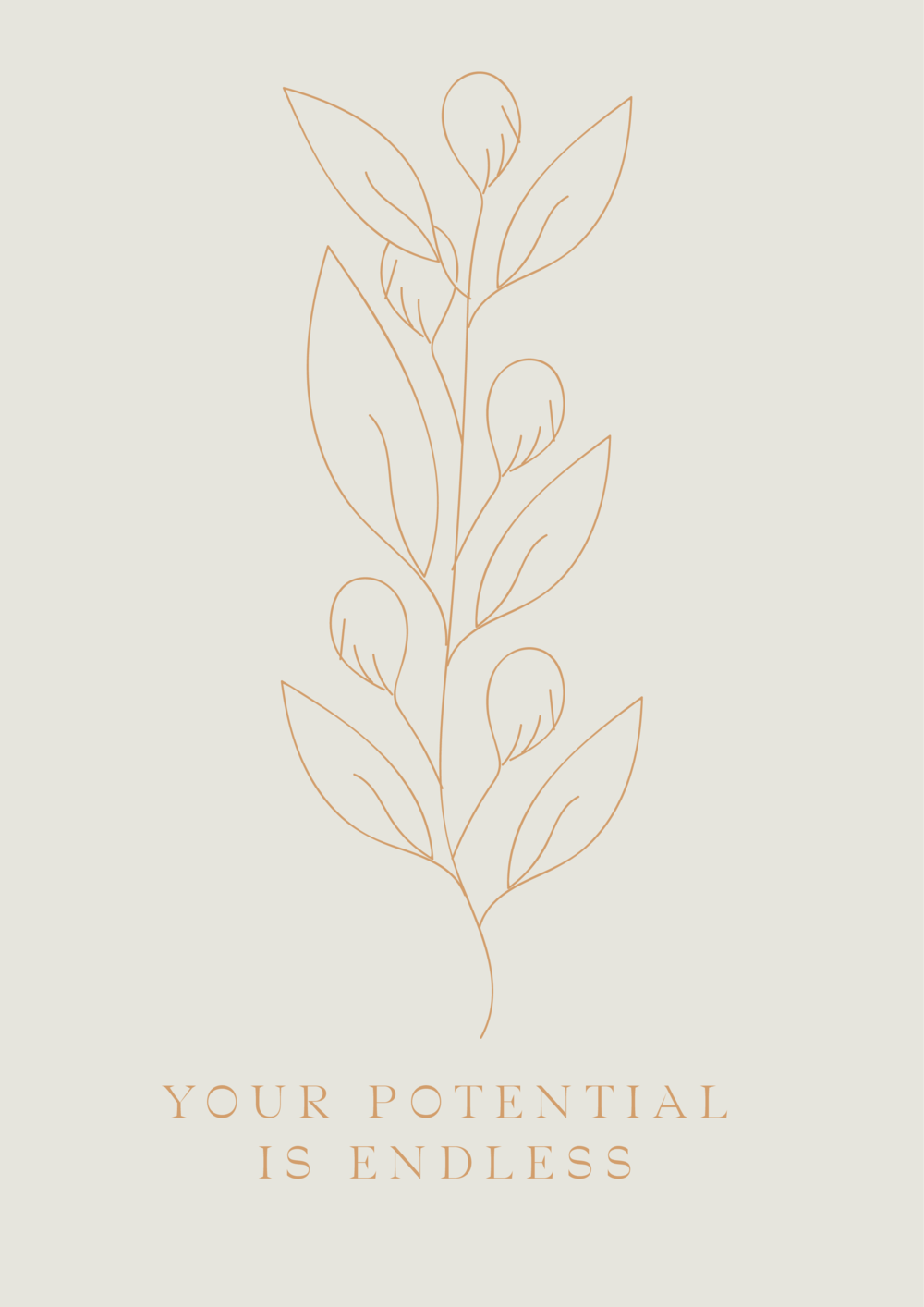 your potential is endless // phylleli design studio and blog