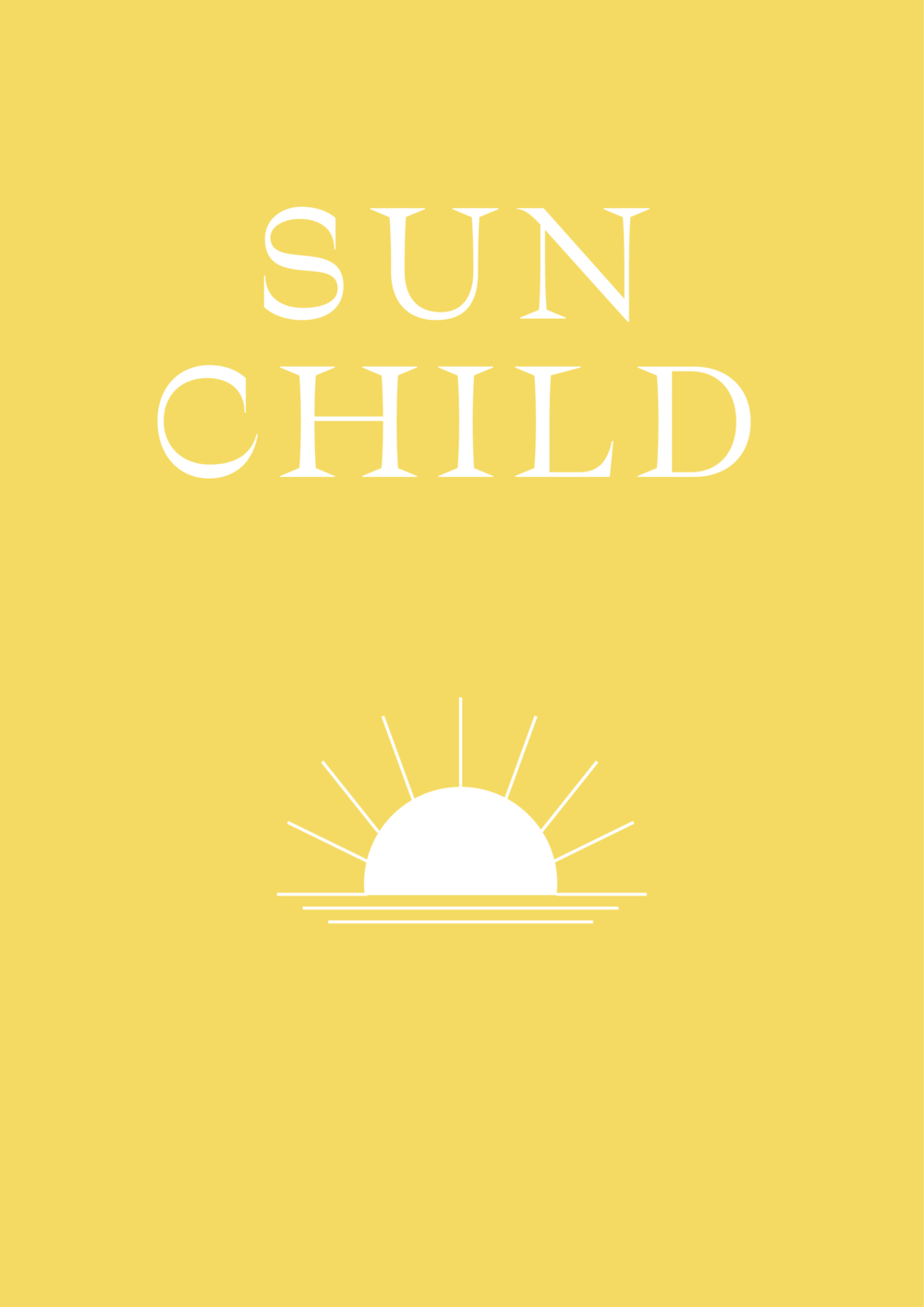 Sun Child // Phylleli Design Studio and Blog