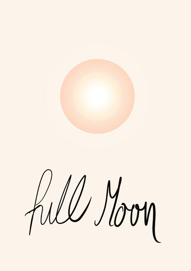 Full Moon // Phylleli Design Studio and Blog