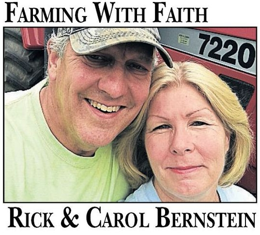 Check in for Field Notes from First Fruits Farm - Rick and Carol Bernstein,assisted by like-minded Christian volunteers,grow food at First Fruits Farm in Freeland, Maryland, to donate to food banks.
