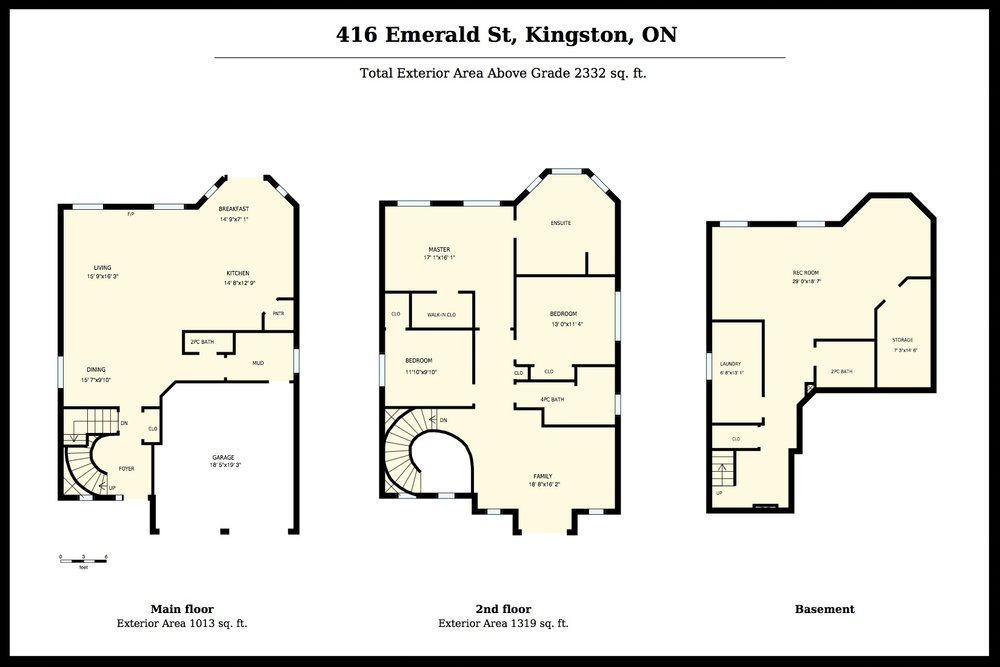 Floor Plans & Room Dimensions - Floor plans allow people to understand the layout of the home before they see the home or to remember it after they have seen the home.