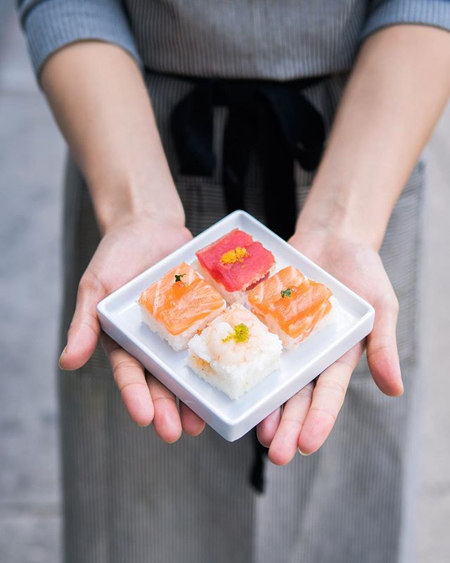 Our signature square sushi might look small and dainty- but they are packed with fresh flavour. Perfect for a lunch time snack or side.