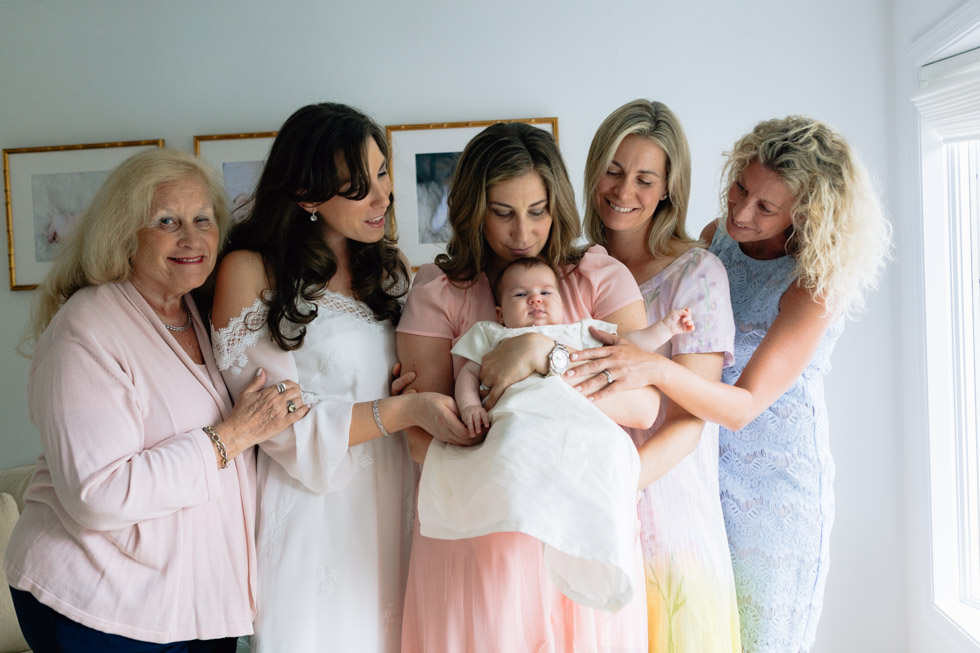 all the women on baptism day - laura barr photogrpahy