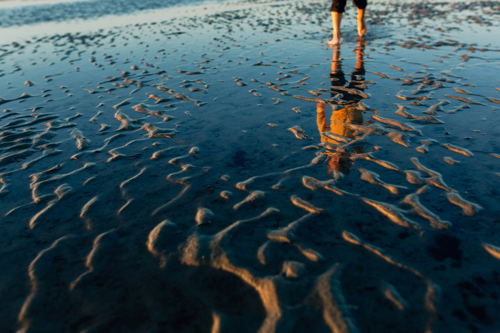 sand ripples at skaket beach by laura barr photography