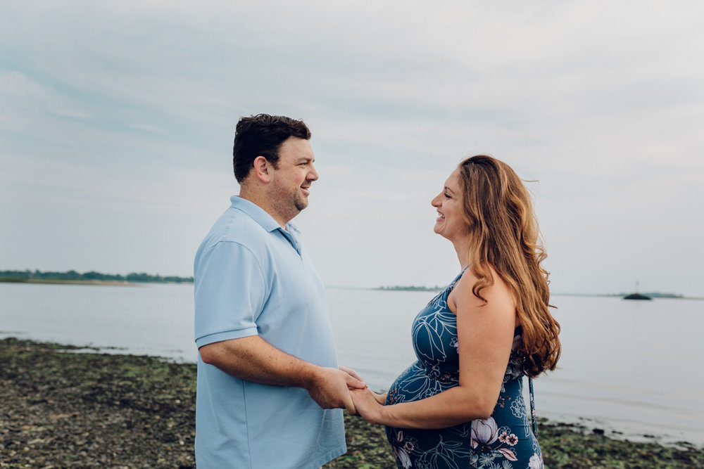 beach maternity photography fairfield county ct