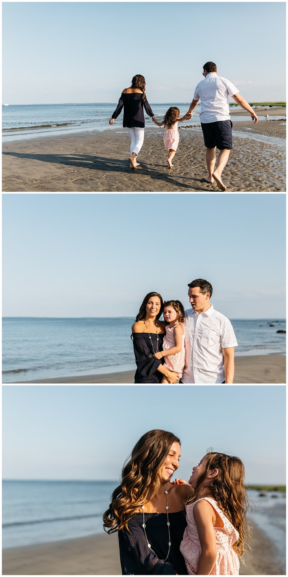 family engagement session at tod's point greenwich by laura barr photography