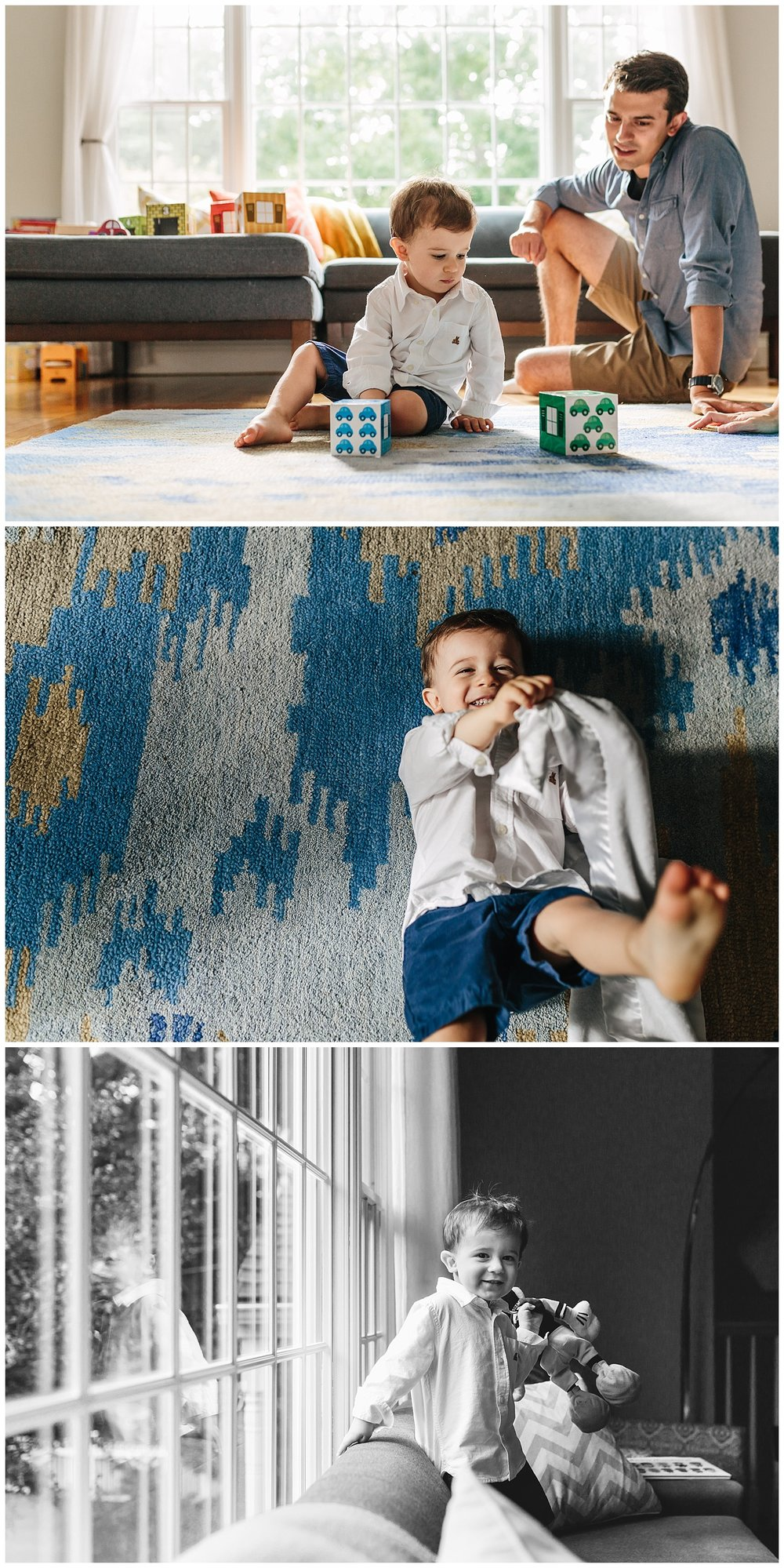 fun family indoor session by laura barr photography