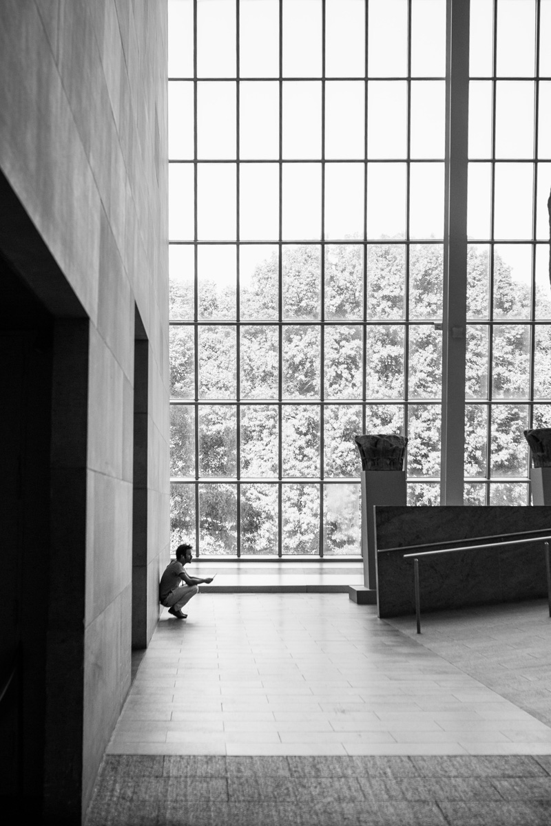 waiting at the met by laura barr photography