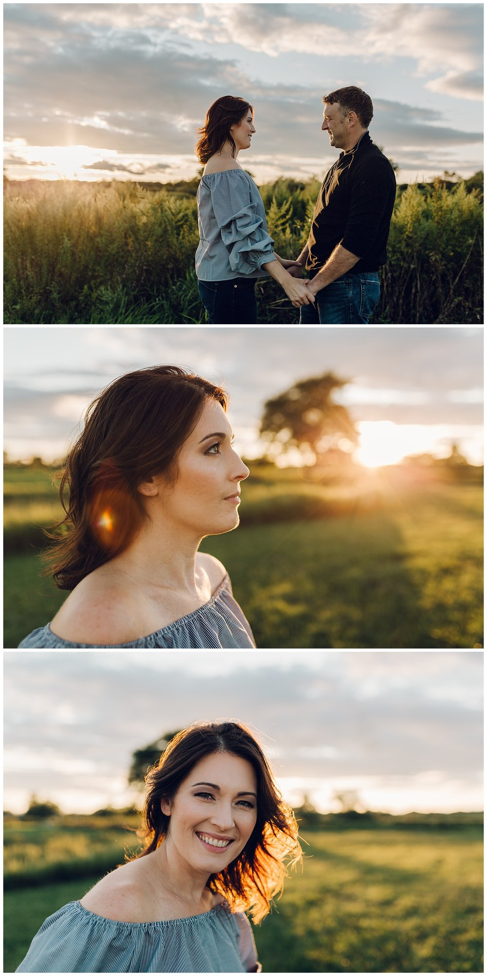sunset couple by laura barr photography