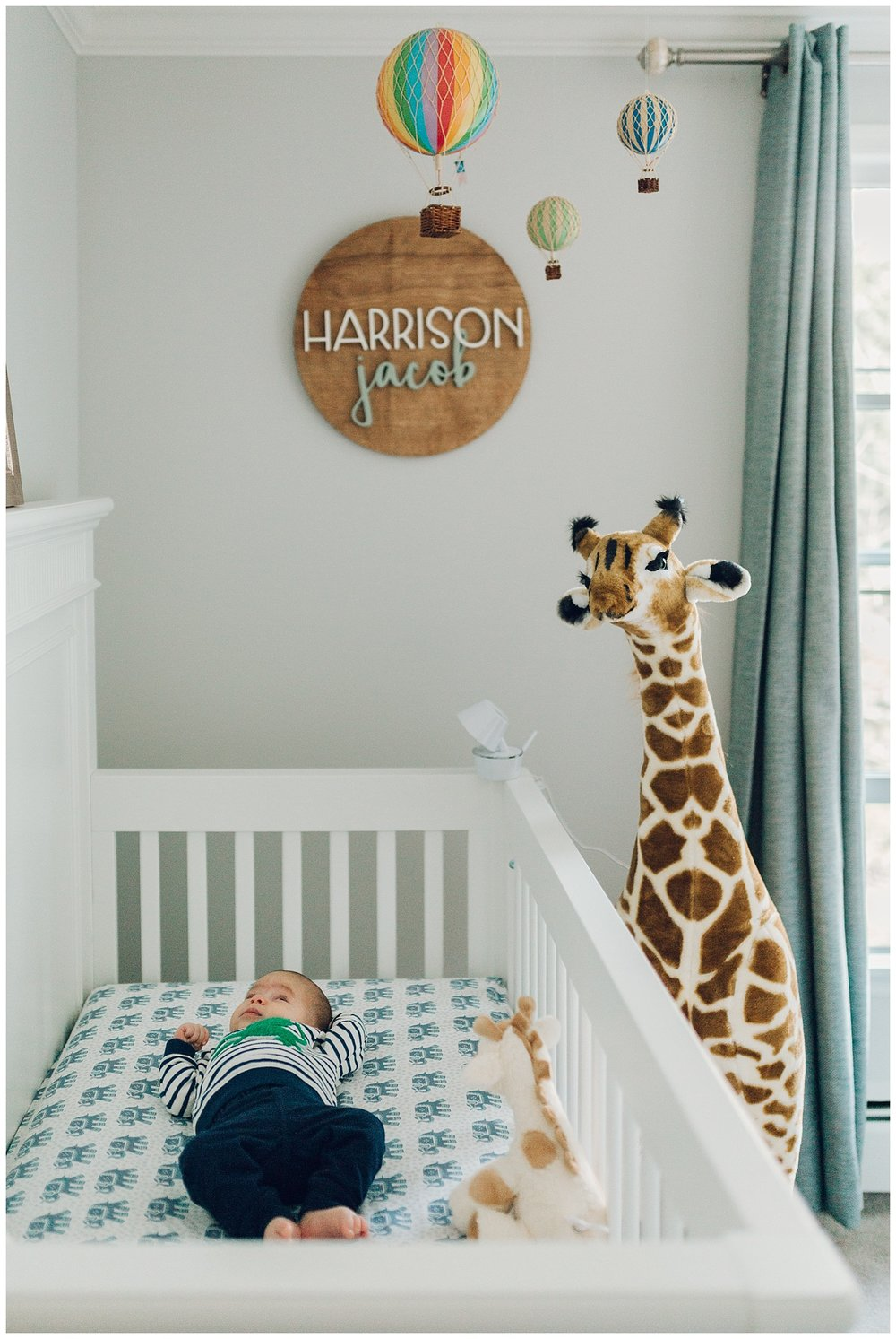 adorable boys nursery by laura barr photography