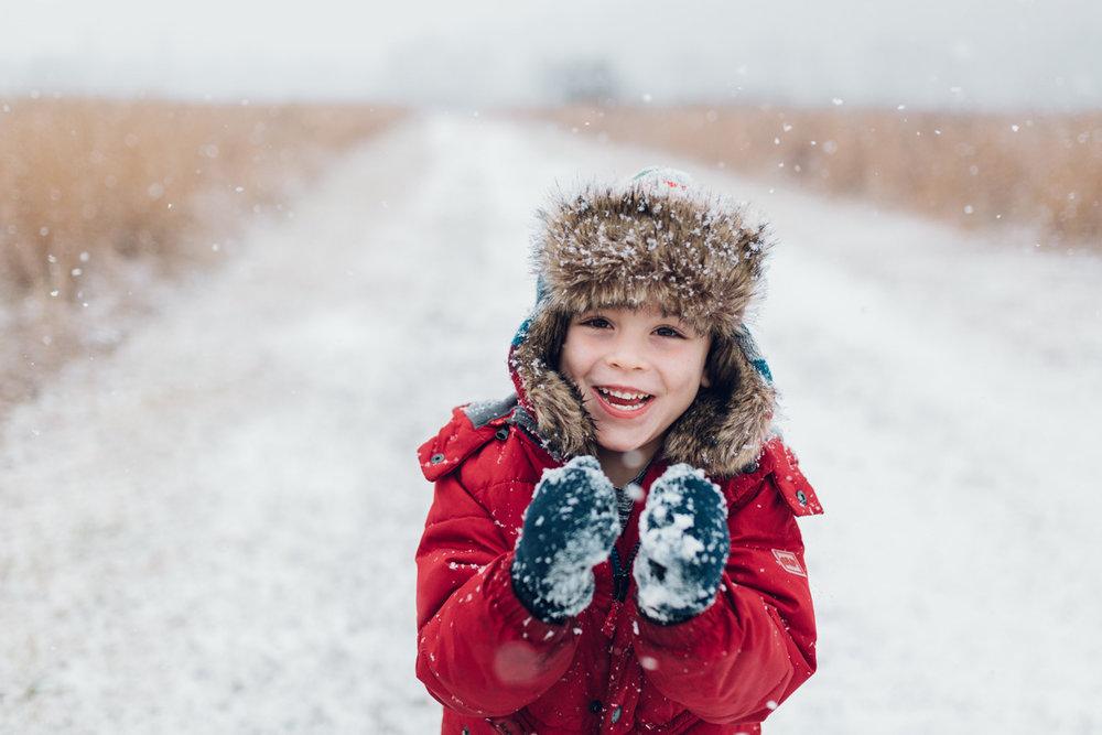 snow joy by laura barr photography