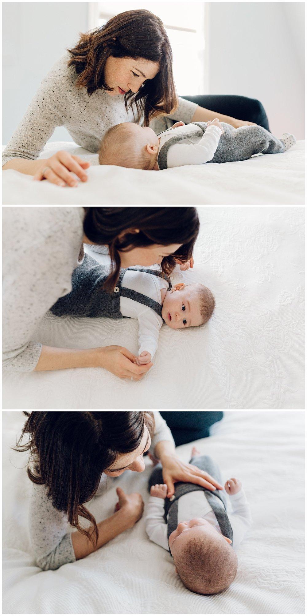 newborn motherhood session in greenwich ct