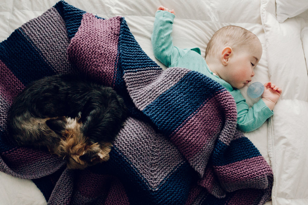 taking a nap in-home session by laura barr photography