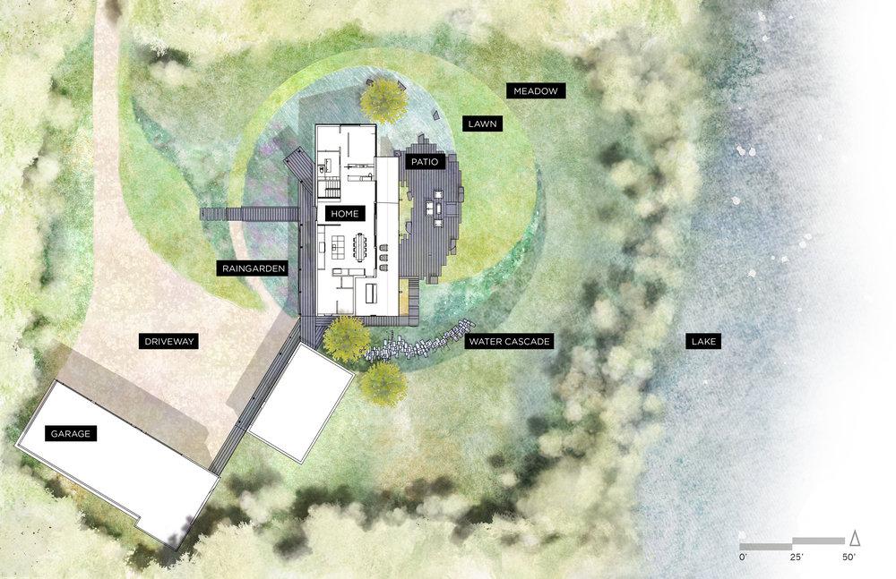 Woods Modern Site Plan