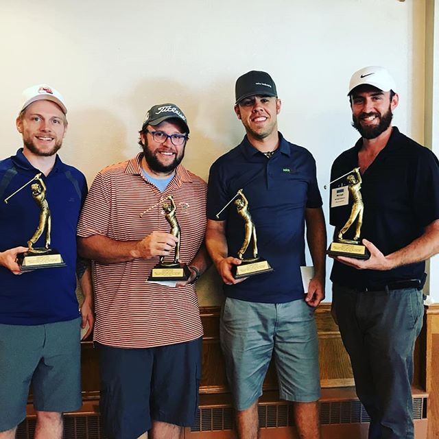 Back to back champs! @mnla1 foundation golf tourney supporting research and scholarship in the green industry.