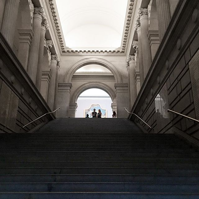 """Somewhere, something incredible is waiting to be known"" - excited for the new #rodin exhibit @metmuseum 🎟 🎟 #rodin #metmuseum #themet #artaround #fromwhereistand #art #architecture #fashionart #nyc"