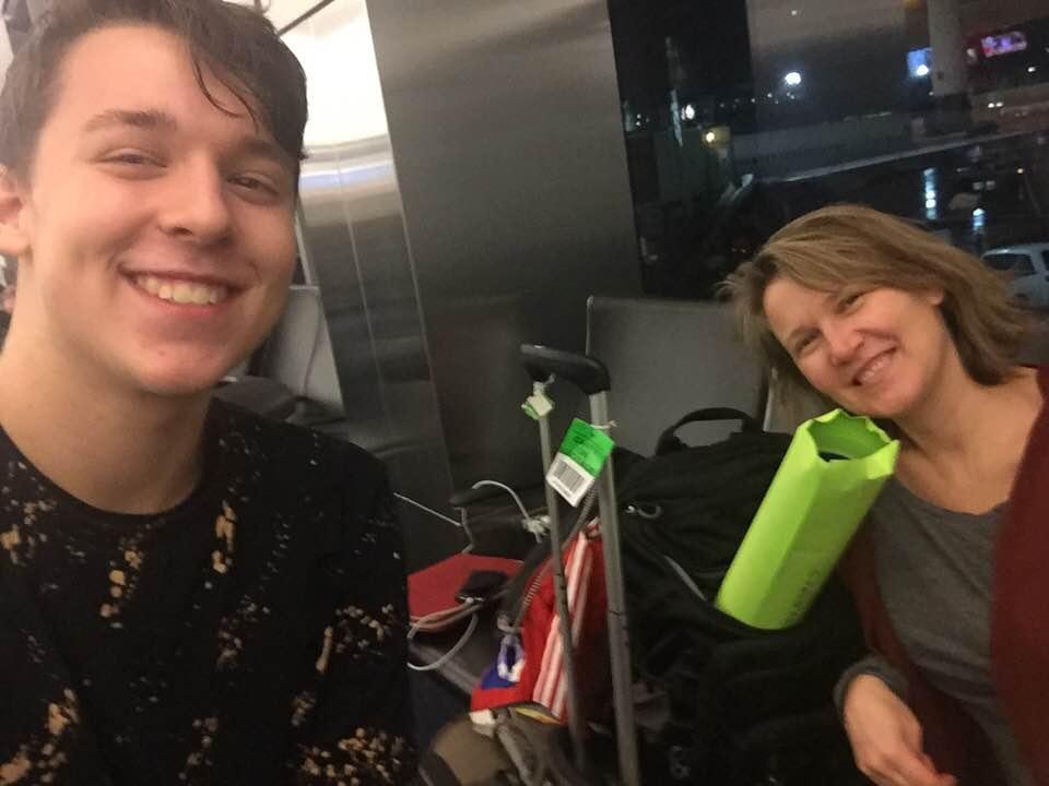 Arturo & Rian heading to Rotterdam