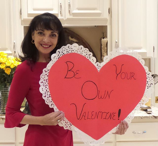 Be Your Own Valentine! Don't have a special someone to celebrate Valentine's day with?  No problem! The I Am Tired of Cooking YouTube channel will be live streaming at 7pm CST on Valentine's day with reviews of @traderjoes chocolate lava cakes, ice cream bon bons and Cupcake Prosecco. #beyourownvalentine #valentines #celebrate #beautyiswithin #beresilient