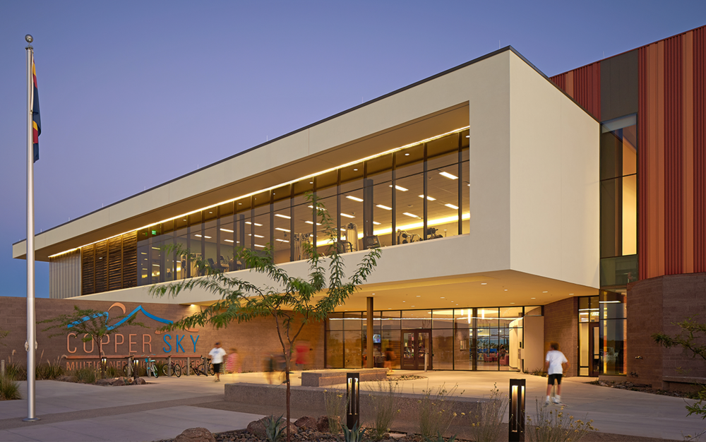 Maricopa Copper Sky Multigenerational Center + Aquatics Facility