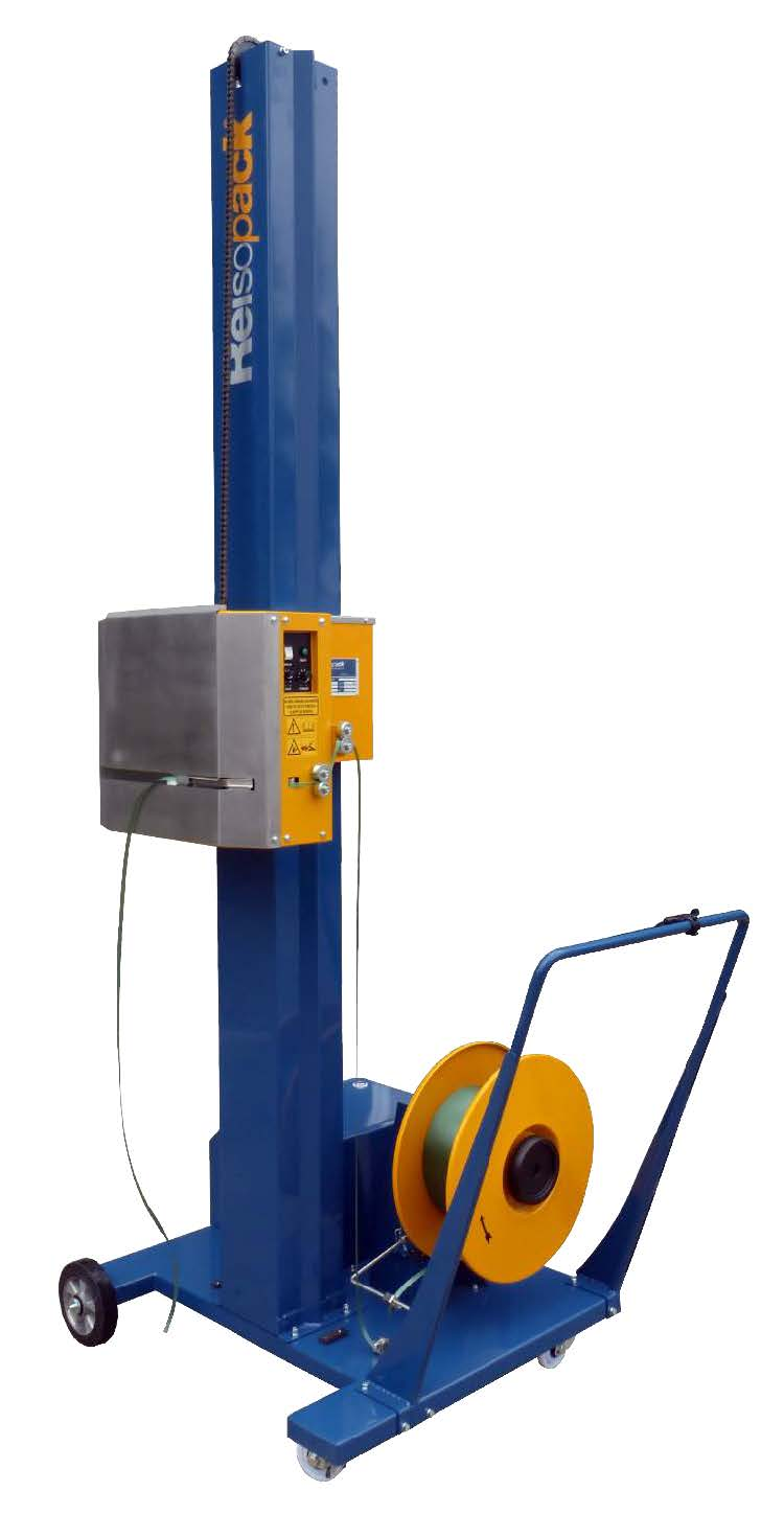 Reisopack 2830 Horizontal Semi-Automatic Strapping Machine for Pallets