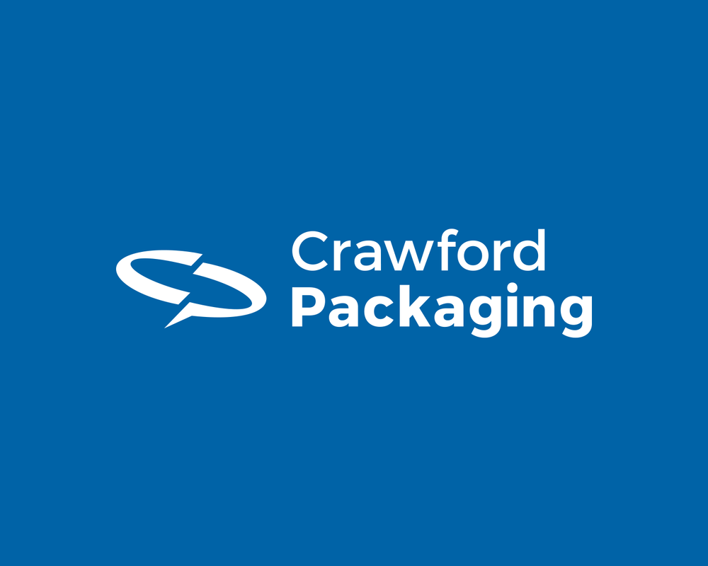 Crawford Packaging, a leading packaging equipment and supplies distributor's new Logo.