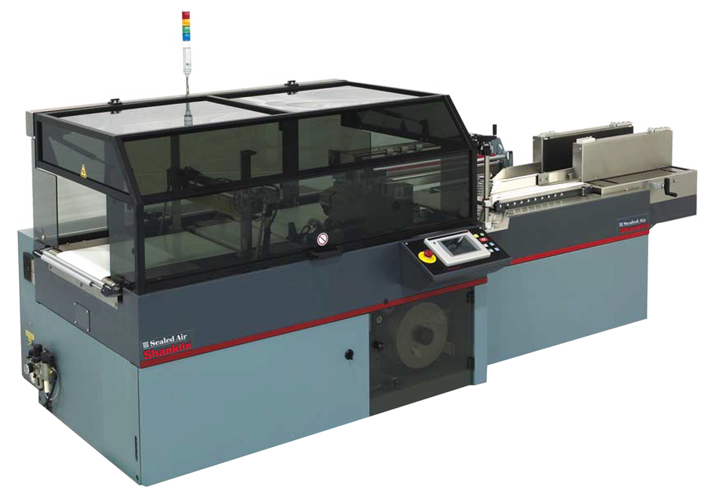 Shanklin Omni Automatic Form-Fill-Seal Shrink Wrapper