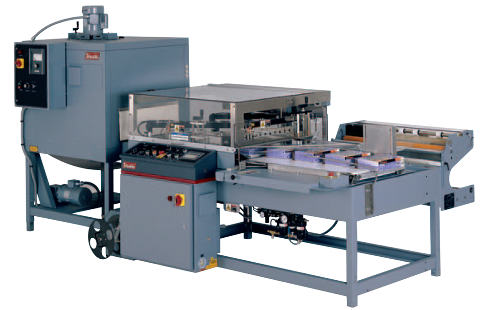 The Shanklin A-27A Automatic L-Sealer with T-7H Shrink Tunnel.