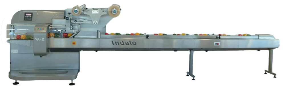 An RGD Mape VR-8 Indalo Flow Wrap Packaging Machine.