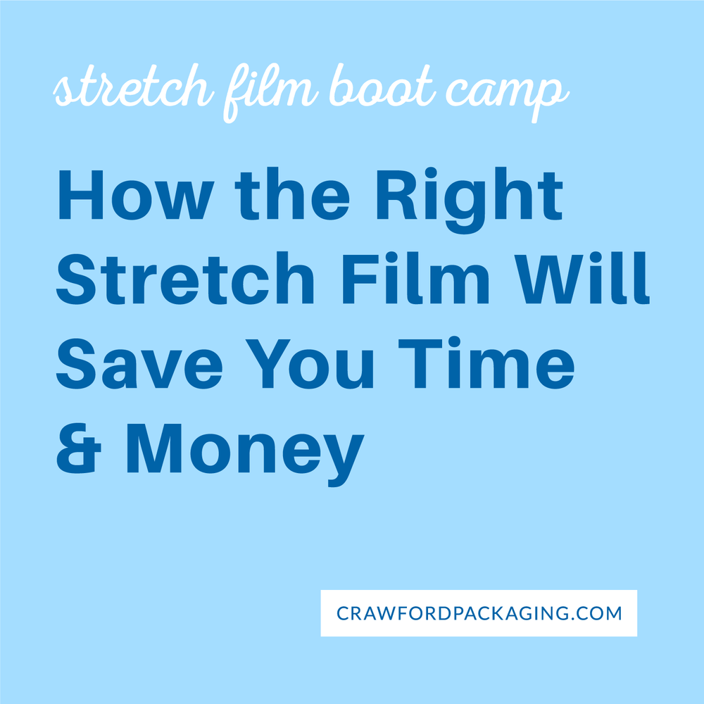 How the right stretch film will save you time and money.