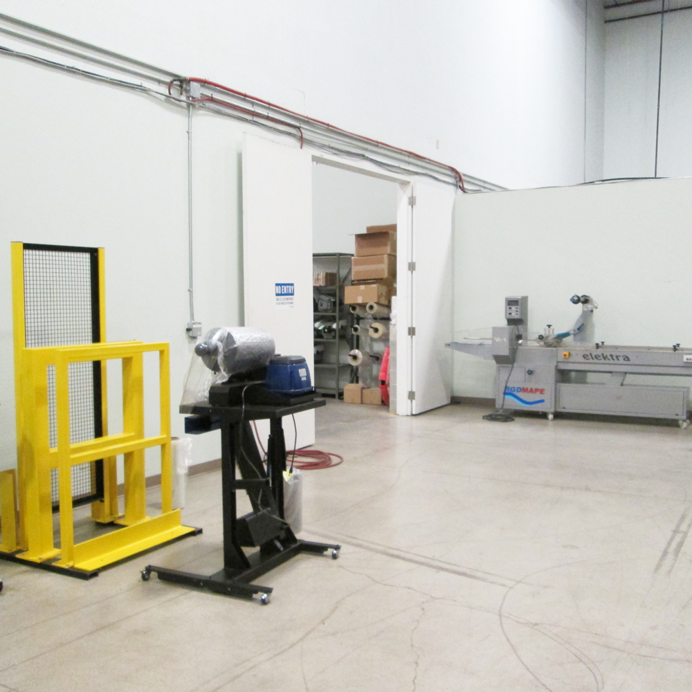 Packaging Equipment Showroom in Brampton