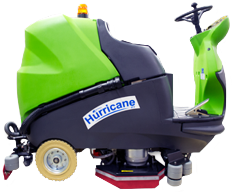 Dustbane Industrial Riding Floor Scrubber Hurricane 900XTT