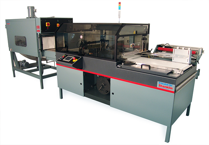 Shanklin TR-2 and T-7H Shrink Wrapping System
