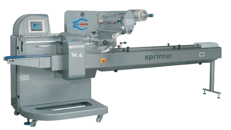 RGD Mape VR-6 Sprinter Flow Wrap Machine