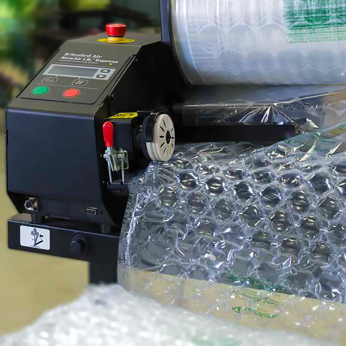 Sealed Air New Air I.B. Express Bubble on Demand Packaging Machine