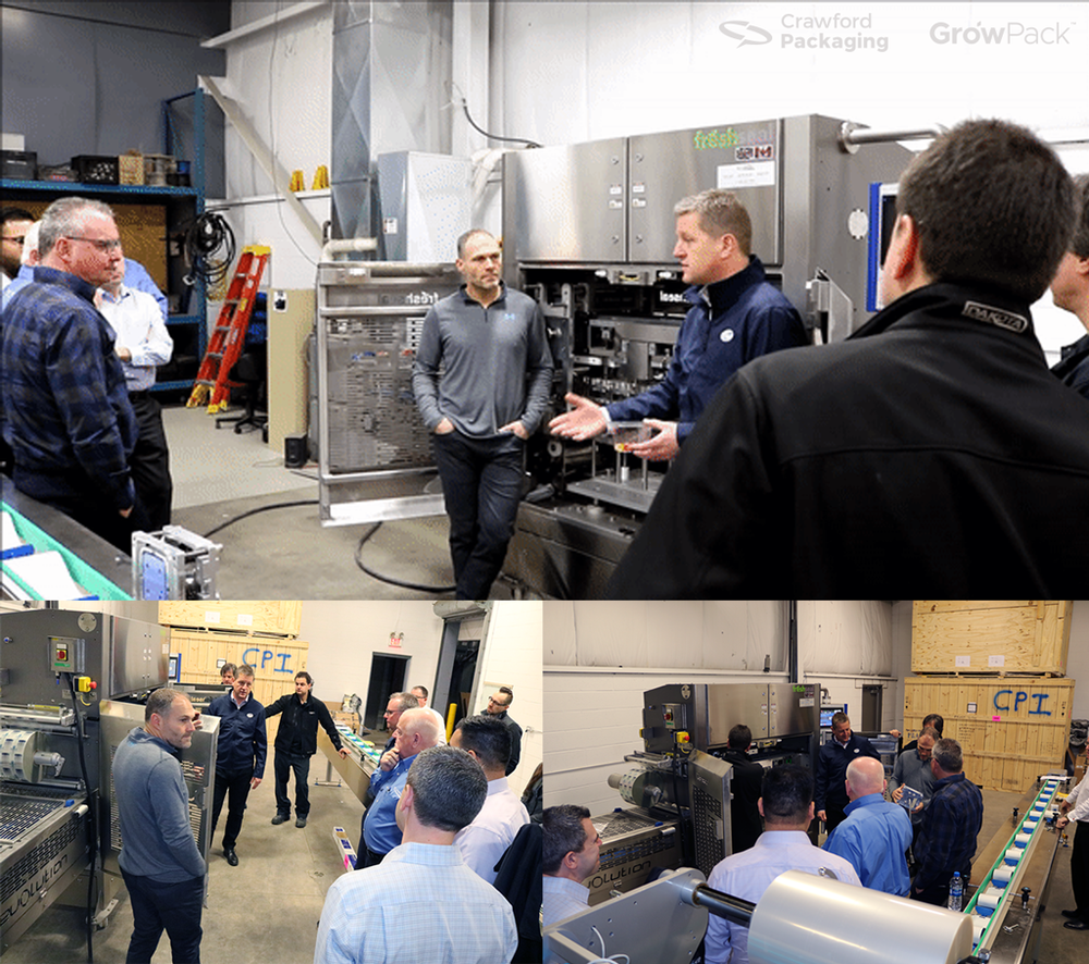 Sales Rep Learning Session with Packaging Automation Top Seal Machine Manufacturers