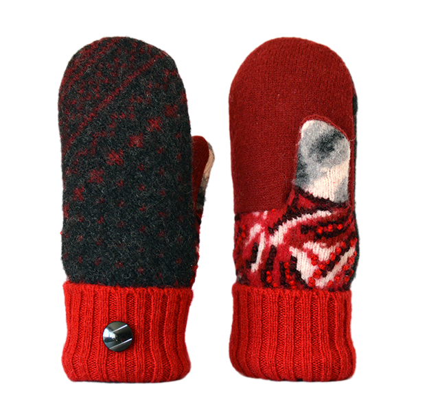 Fleece Lined Mittens Reewesing